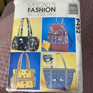 2003 McCall's Fashion Accessories sewing pattern